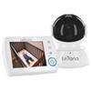Interphone surveillance vidéo numérique panoramique/inclinaison 3,5 po Astra de Levana - Blanc-noir
