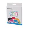 Disques CD-R 52x de 700 Mo de Memorex - Paquet de 5