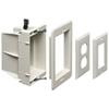 Coffret de branchement encastré non métal. pour alimentation/basse tension d'Arlington (DVFR1WGC)