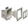 Arlington Non-Metallic Power/Low Voltage Recessed Box (DVFR2WGC)
