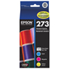 Epson Claria 273 Colour Ink (T273520-S) - 4 Pack