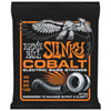 Cordes de guitare basse en cobalt Slinky d'Ernie Ball (2733) - Anglais