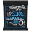 Cordes de guitare basse en cobalt Slinky d'Ernie Ball (2735) - Anglais