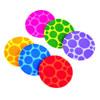 Munchkin Non-Slip Bath Mat - 6 Pack - Multicolour