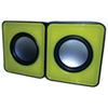 Haut-parleur mini USB de MMNOX (HM324Y) - Jaune