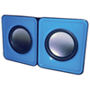 Haut-parleur mini USB de MMNOX (HM324B) - Bleu