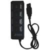 Concentrateur USB à 4 ports de MMNOX (UC041B)
