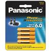 Panasonic DECT 6.0 Phone Replacement Battery (HHR4DPA4B)
