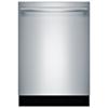 Lave-vaisselle encastrable grande capacité 24 po 46 dB avec cuve acier inox Bosch (SHX53T55UC)-Inox