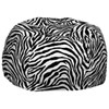 Comfy Kids - Teen Bean Bag - Zebra