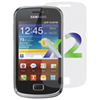 Exian Samsung Galaxy Ace II X Screen Protector - 2 Pack