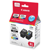 Canon PG-240XL/CL-241XL Black/Colour Ink (5206B007) - 2 Pack