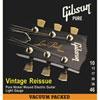 Cordes de guitare électrique Vintage Reissue .010 - .046 de Gibson (SEG-VR10)