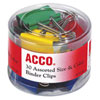 Acco 30-Piece Assorted Binder Clips (ACC71130) - 30 Pack