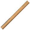 Acme United Plain-Edge Double-Bevel School Ruler (ACM16930)