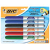 BIC Dry Erase Whiteboard Markers (BICGDEP61) - 6 Pack - Fine