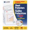Protections pour feuilles en polypropylène à chargement par le haut C-line (CLI62027)- Paquet de 100