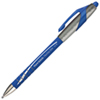 Stylo bille pointe rétractable moyenne FlexGrip Elite de Paper Mate (PAP85581) - Bleu