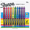 Sharpie Pen-style Liquid Highlighters (SAN24415PP) - 10 Pack - Multicolour