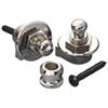 Schaller Guitar Strap Lock (SCH14010101) - Nickel