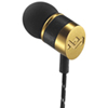 House of Marley Uplift Grand In-Ear Sound Isolating Headphones (EM-JE033-GN) - Black/Gold