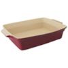 Plat de cuisson rectangulaire de 13,75 po x 9,5 po Geminis de BergHOFF - Rouge