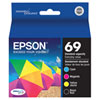 Epson DURABrite Ultra T069 CMYK Ink (T069120-BCS) - 4 Pack