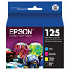 Cartouche d'encre CMJN DURABrite Ultra T125 d'Epson (T125120-BCS) - Paquet de 4