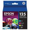 Epson DURABrite Ultra T125 CMYK Ink (T125120-BCS) - 4 Pack