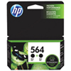 HP 564 Black Ink (C2P51FN) - 2 Pack