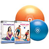 STOTT PILATES Mini Stability Ball With DVD (DC-85179) - 2 Pack