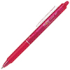 Pilot FriXion Retractable Clicker Erasable .70mm Ballpoint Pen (PILBLRTFR7PK) - Pink