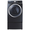 Samsung 7.5 Cu. Ft. Electric Steam Dryer (DV45H6300EG) - Onyx