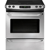 "Frigidaire 30"" 4.6 Cu. Ft. Slide-In Self-Clean Smooth Top Range (CFES3025PS) - Stainless Steel"