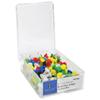 Punaises de couleurs assorties de Sparco (SPR81001) - Paquet de 100