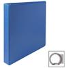 Cartable à reliure à anneaux ronds de 1 po de première qualité de Sparco (SPR19602) - Bleu