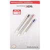 Insignia Retractable Stylus for 3DS - 3 Pack