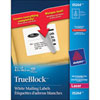 """Avery 3- 1/3"""" x 4"""" TrueBlock Mailing Labels (AVE05264) - 150 Pack"""