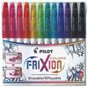 Pilot Frixion Colour Erasable Marker Pen Set (PILSWFCS12) - 12 Pack - Assorted
