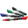 Quartet Endura-Glide Dry-Erase Chisel Point Marker (QRT03479) - 4 Pack - Assorted