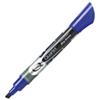 Marqueur effaçable à sec à pointe biseautée Endura-Glide de Quartet (QRT03963) - Bleu