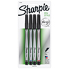 Sharpie Porous Extra Fine Point Pen (SAN1742662) - 4 Pack - Assorted