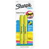 Sharpie Accent Gel Highlighter (SAN1780473) - 2 Pack - Yellow