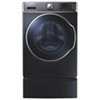 Samsung 6.5 Cu. Ft. High Efficiency Front Load Steam Washer (WF56H9100AG) - Onyx