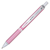 Pentel Stationary Retractable Alloy Energel 0.7mm Rollerball Gel Pen (PENBL407P-A) - Silver