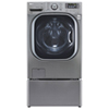 LG 5.2 Cu. Ft. High Efficiency Front Load Steam Washer (WM4270HVA) - Grey