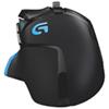 Souris de jeu optique réglable G502 de Logitech pour FPS - Noir