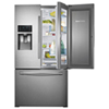 "Samsung 35.7"" 27.6 Cu. Ft. French Door Refrigerator - (RF28HDEDBSR) Stainless Steel"