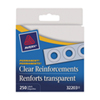 Avery Hole Reinforcement Label (AVE32203) - 250 Pack - Clear