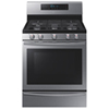 """Samsung 30"""" 5.8 Cu. Ft. Self-Clean Gas Convection Range (NX58H5650WS) - Stainless Steel"""